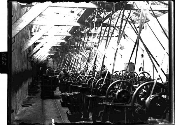 288. Taller de la Fábrica de Moreda.1920