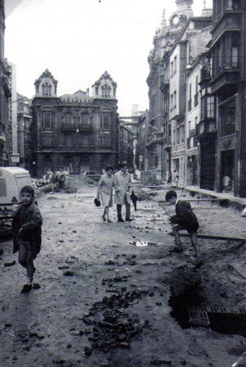 1969 primer tramo de la calle de los Moros