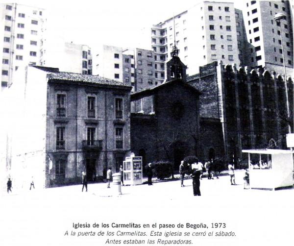 1973. Iglesia de los Carmelitas