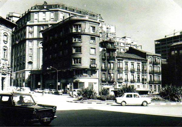 Plaza del 6 de Agosto en 1970