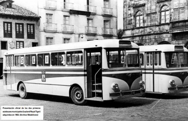 Primeros autobuses
