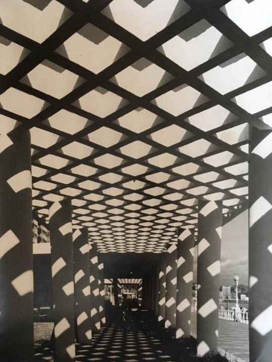 Fotografía de las pérgolas del Muro realizada por José Hernández Amor