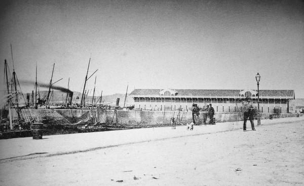 La aduana 1868