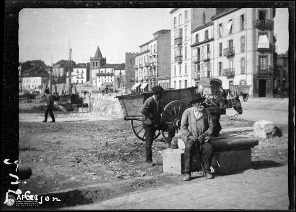 1890 rellenando para su construccion