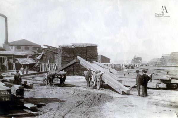 Compañía Gijonesa de Madera. H. Bertrand sucesor de D. Fernández Castrillón