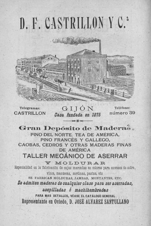 Depósito de maderas Castrillón