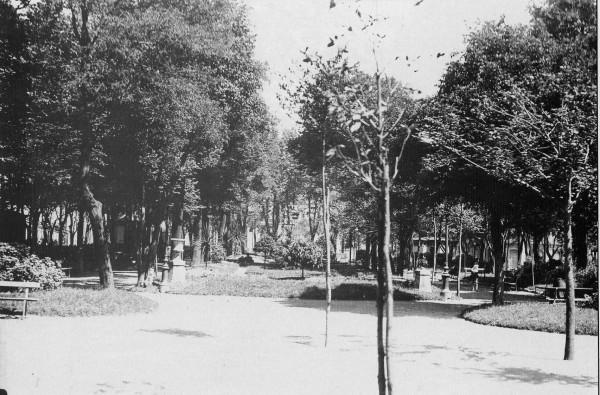 Jardines de Begoña alrededor de los años 30