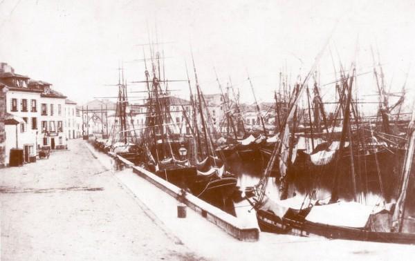 Muelle de Abtao 1858