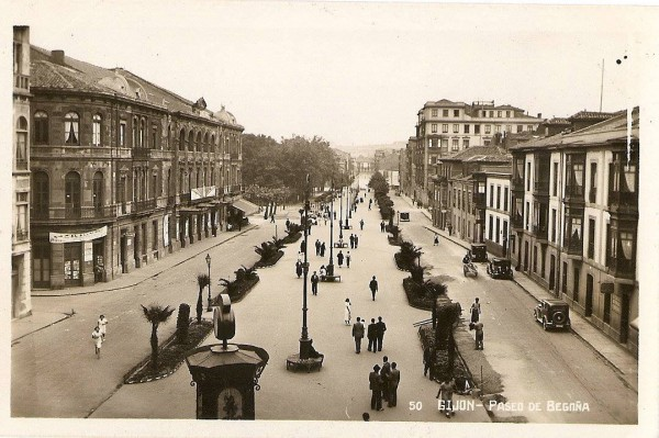 Paseo de Begoña sobre 1925