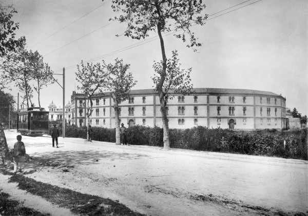 Plaza toros del Bibio 1911 Julio Peinado
