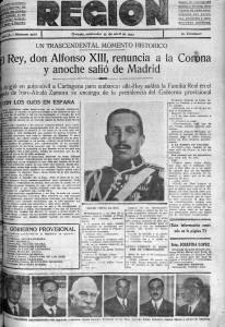 Region 15 abril 1931