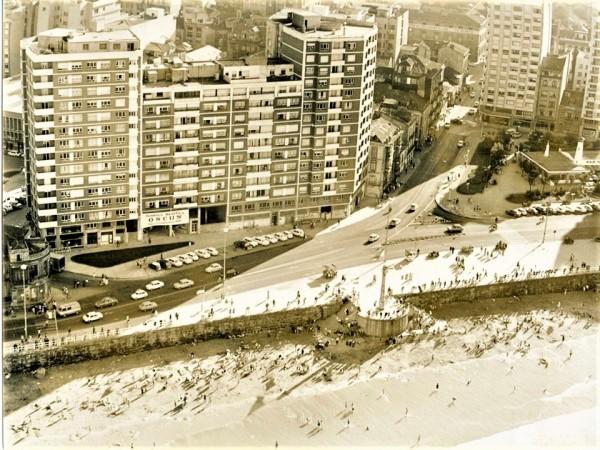 Vista aerea za la Plaza de San Lorenzo. Foto Encinas