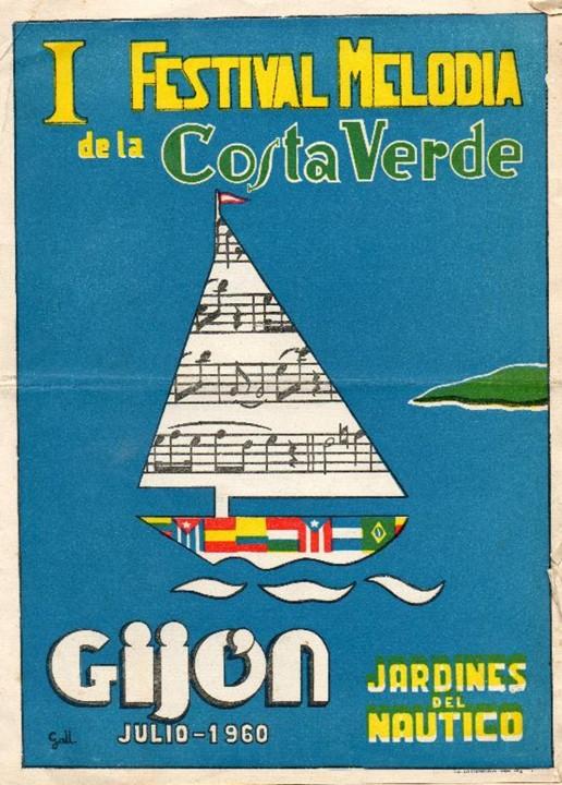 1960 I festival melodia costa verde