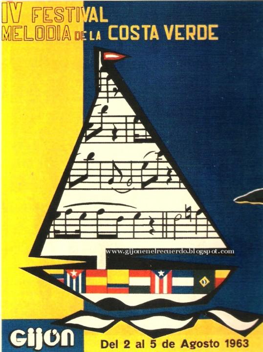 cartel 1963.festival costa verde  IV
