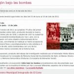 Gijón bajo las bombas. CMI del Coto
