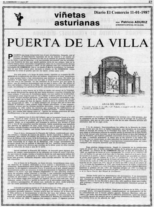 Puerta de la villa 11-01-1987