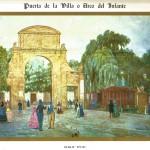 Gijón . El Arco del Infante o Puerta de la Villa
