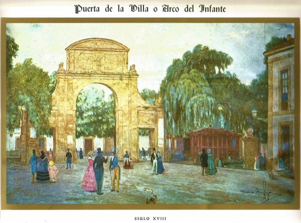 Puerta de la villa pintor Ernesto Gutierrez