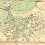 Plano de Gijón. Año 1953