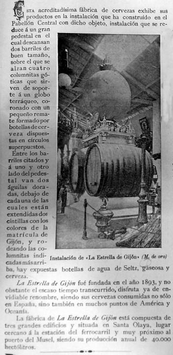 Estrella exposición regional 1899
