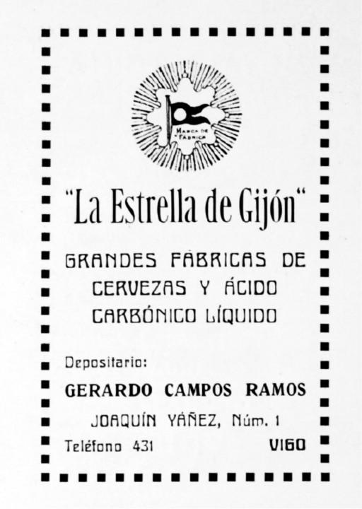 La Estrella en el catálogo de Vigo