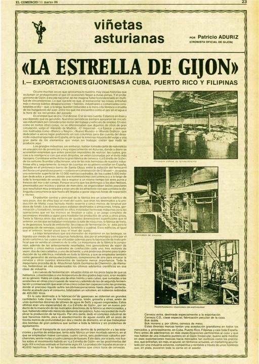 La estrella de gijón-El Comercio 11-Marzo-1986- 1
