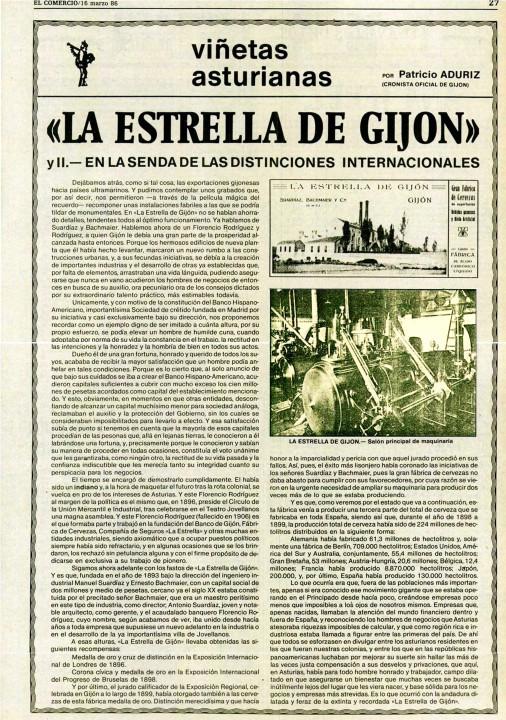 La estrella de gijón-El Comercio 16-Marzo-1986- 2