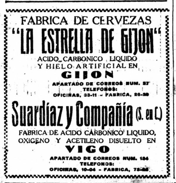 estrella de gijon 18-7-1953