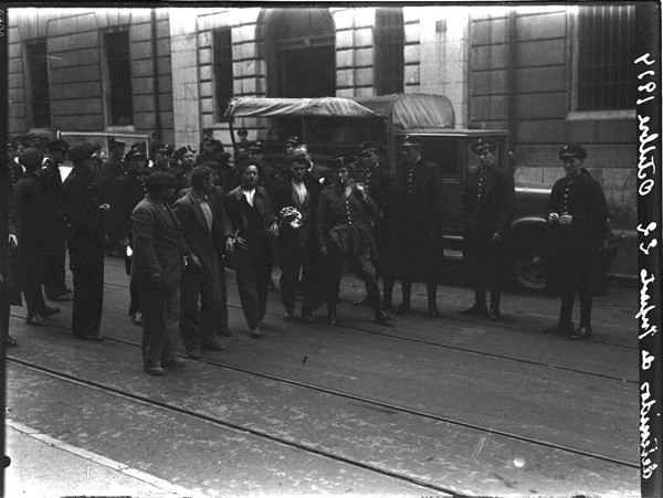 1955. Detenidos en Infiesto 22-10-1934