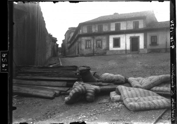 1959. Barricada en Cimavilla