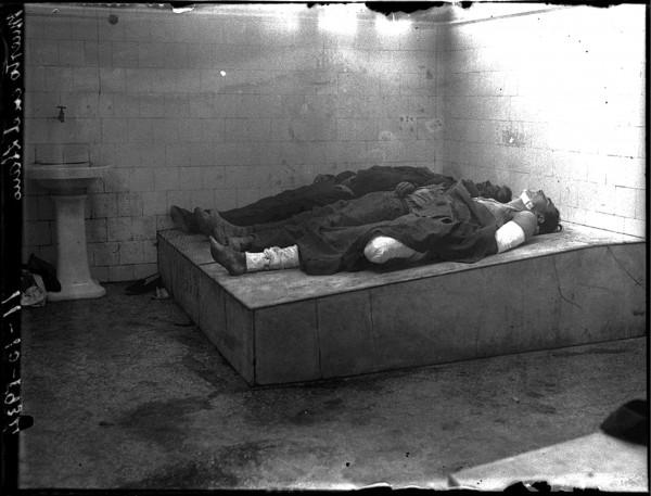 1970. Muertos en El Llano 11-10-1934