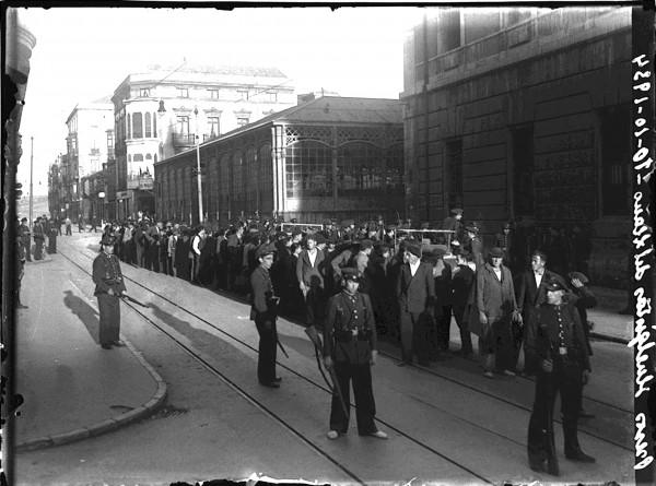 1971 Presos huelguistas del Llano 10-10-1934