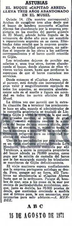 ABC Domingo 15 de Agosto de 1971