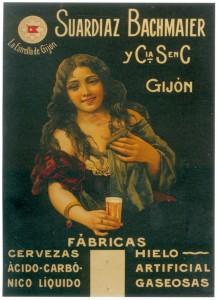 Cerveza hecha en Asturias.
