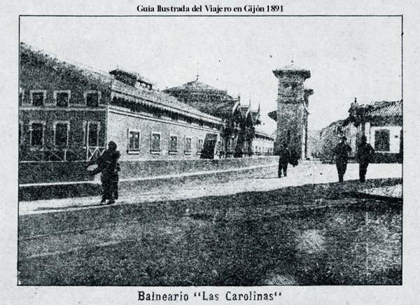 Guia del viajero en Gijón 1891-2