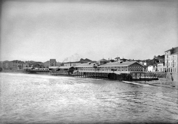 L'arenal de San Llorienzo y el balneariu de Las Carolinas