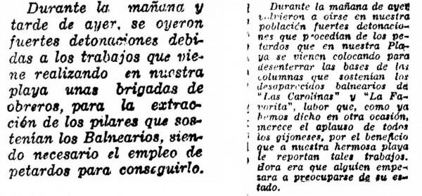 Noticias diario Volutad 1938