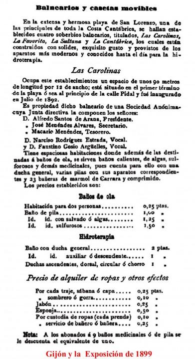 carolinas 1889-1
