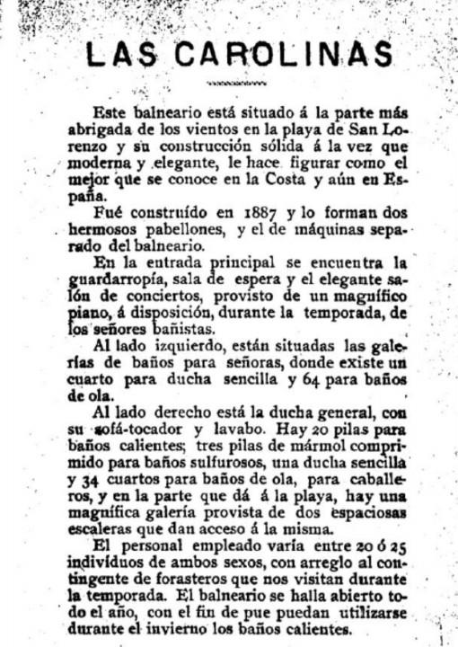 carolinas 1889-2