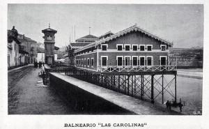Gijón. Balneario Las Carolinas