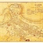 Gijón en la guía para el turista del año 1914.