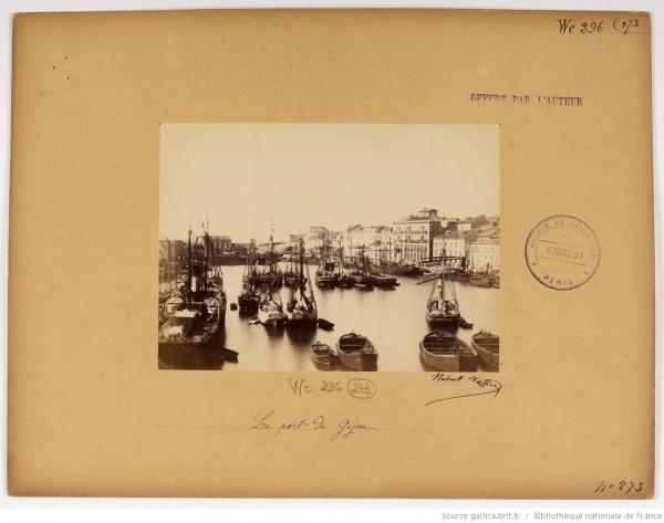 F. 273. El puerto de Gijón