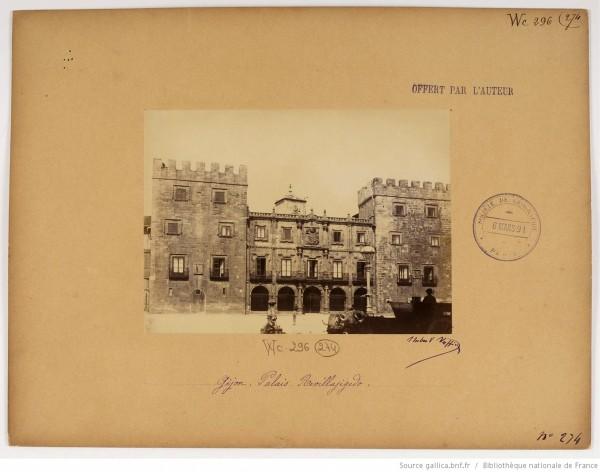 F. 274. Gijón, palacio Revillajigedo