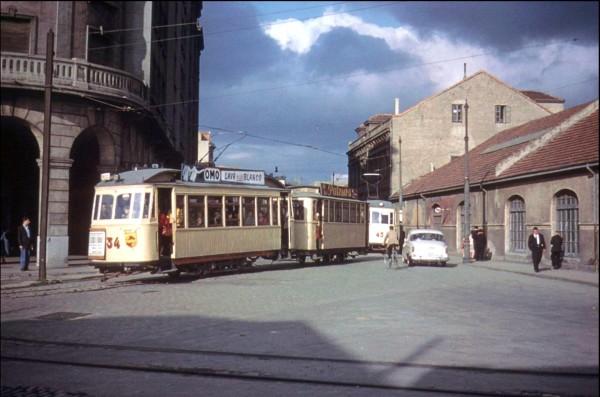 Tranvia numero 34 al Musel 1960