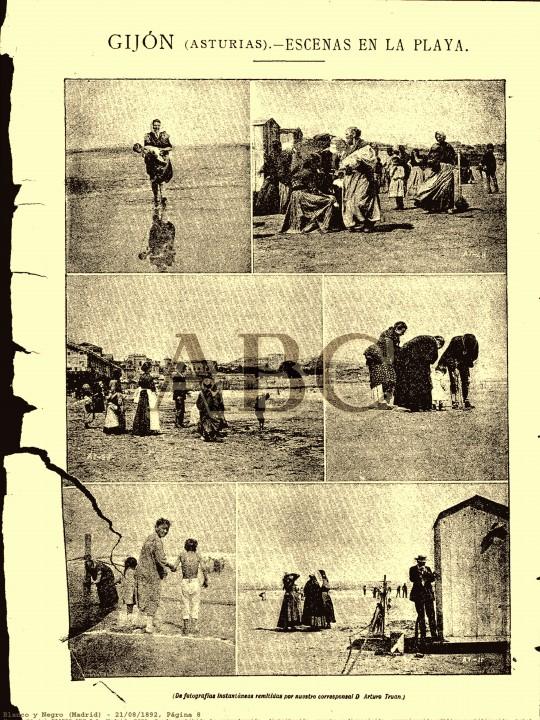 escenas de playa truan 1892
