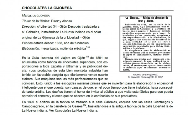 La gijonesa chocopedia