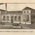 Fábrica de chocolates La Gijonesa.