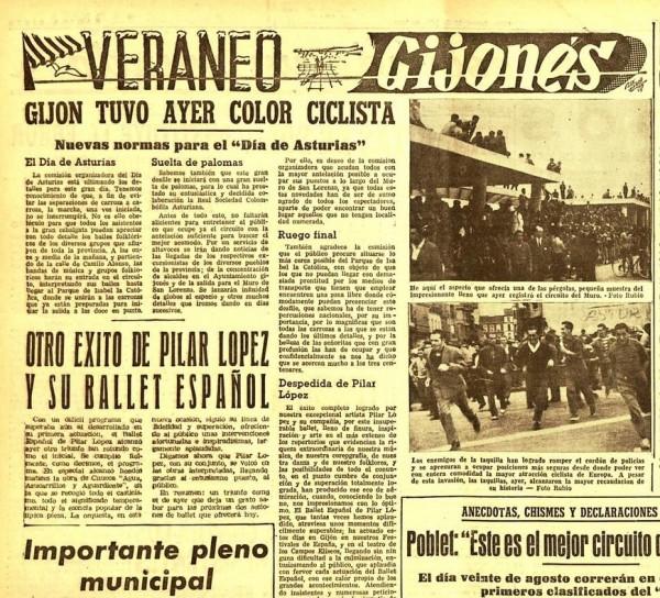 carrera ciclista 31-7-1958
