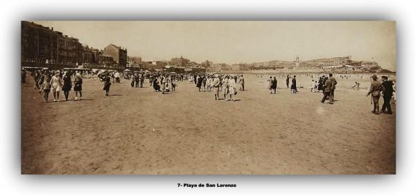 7 Playa de san Lorenzo. marco