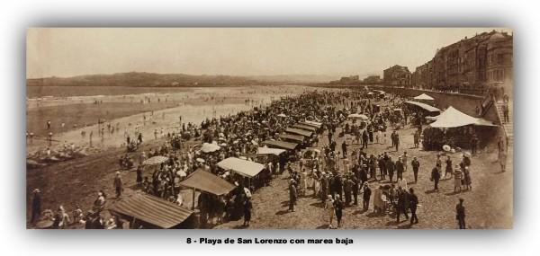 8 Playa de san Lorenzo marco